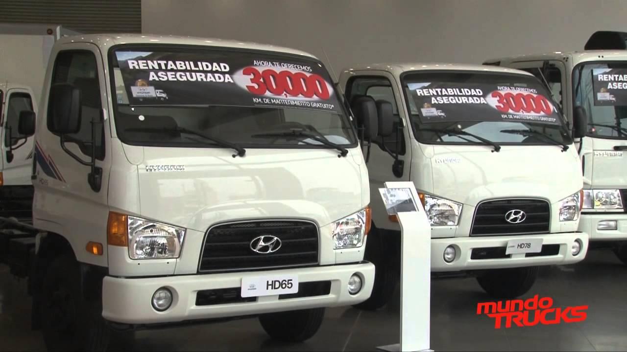 Empresa eléctrica Cotecon recibe cuatro camiones Hyundai ...