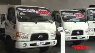 Empresa el ctrica Cotecon recibe cuatro camiones Hyundai