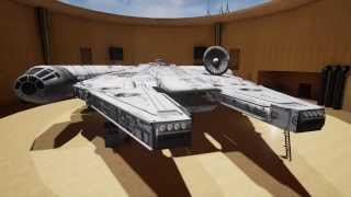 Unreal Engine 4 Star Wars Millennium Falcon Tech Demo