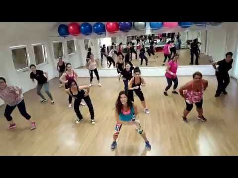 """Chainsmokers - """"Don't Let Me Down"""" Zumba Fitness Choreography"""