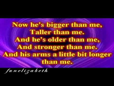Justin Bieber never say never -lyrics on screen HD
