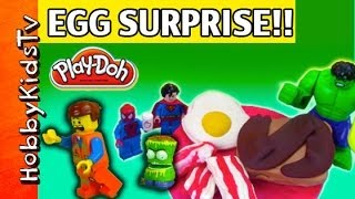 Lego Emmet's PLAY-DOH Surprise Egg thumbnail