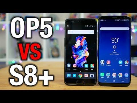 OnePlus 5 vs Galaxy S8+: Can it kill a flagship?