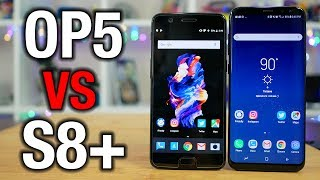 OnePlus 5 vs Galaxy S8+  Can it kill a flagship?