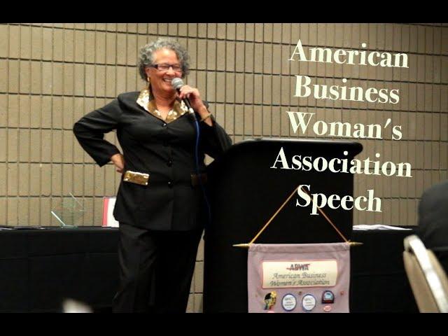 Motivational Speaker- Cameron Briscoe - American Business Women's association