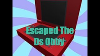Escaped The Ds Obby ( Roblox )