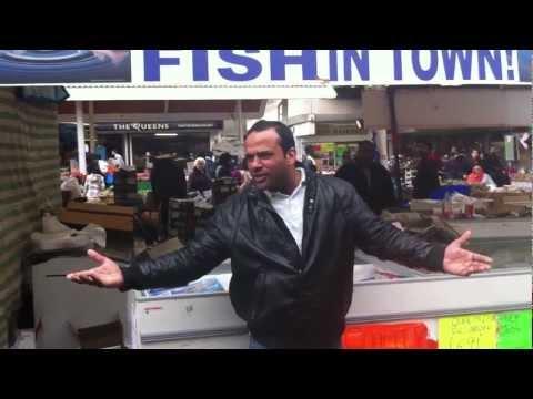 THE ORIGINAL... One 1 Pound Fish, Queens Market, Upton Park, London E13