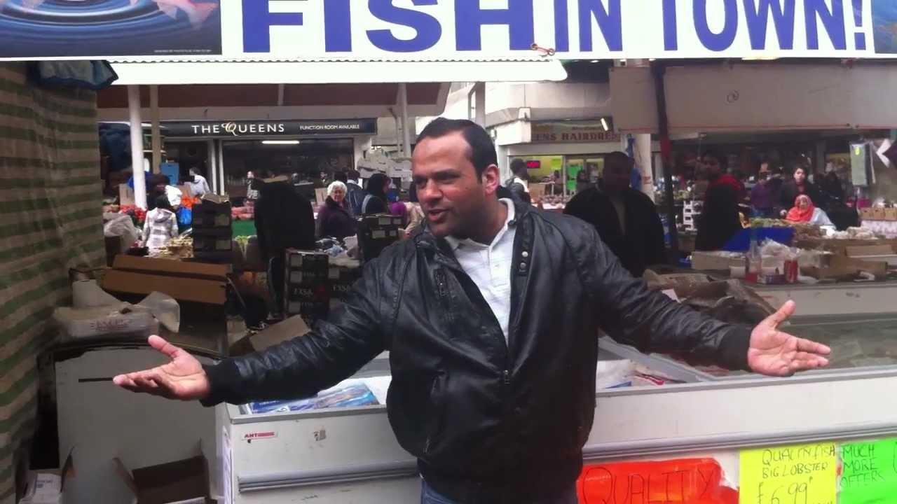 The original one 1 pound fish queens market upton for Fish market queens
