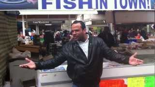 THE ORIGINAL... One 1 Pound Fish, Queens Market, Upton Park, London E13