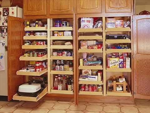 Kitchen Pantry Cabinet I Kitchen Pantry Cabinet Corner - YouTube