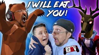 Hide \u0026 Seek: Savage BEAR Edition! I WILL EAT YOU! (FGTeeV Boys Multiplayer Game)