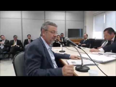 Depoimento de Antonio Palocci ao juiz Sérgio Moro, na Lava Jato - Parte 4