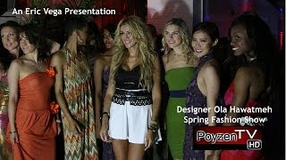 Spring Fashion Show by Ola Hawatmeh - Skyroom - NYC