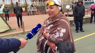 видео Зимнее плавание кубок и чемпионат