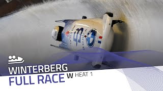 Winterberg | BMW IBSF World Cup 2020/2021 - Women's Bobsleigh Heat 1 | IBSF Official
