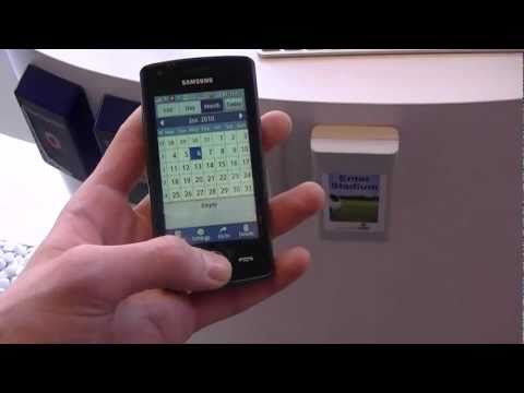 Samsung Wave 578 hands-on