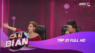 Vòng 3: Lật Mặt - Ca Sĩ Bí Ẩn l Tập 21 Full HD | Quốc Thiên và Ốc Thanh Vân (21/08/17)