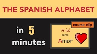 in 5 minutes learn the spanish alphabet and 25 vocabulary words