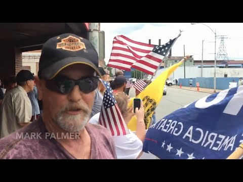 Protesters, supporters arrive in Illinois city for Donald Trump visit