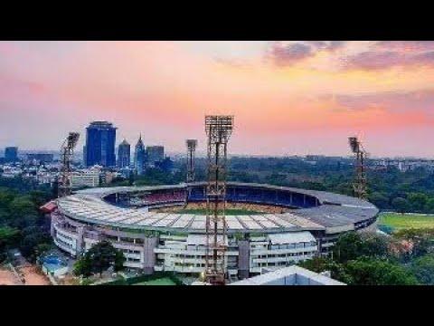 Bangalore  M. Chinnaswamy cricket stadium outside vlog.