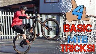 4 BASIC MTB TRICKS