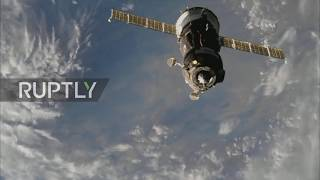 ISS: Soyuz MS-09 docks successfully at International Space Station