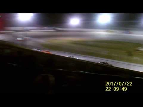 Lebanon I 44 Speedway Late Model feature  7 22 17