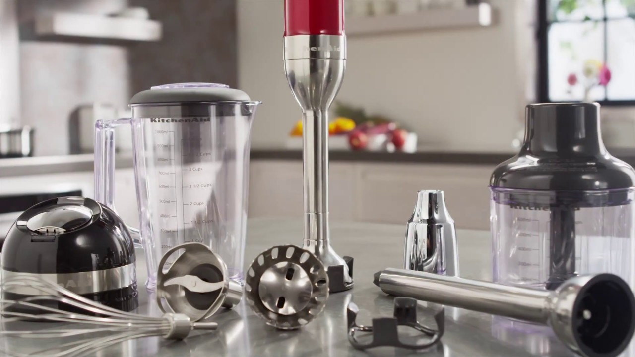 Kitchenaid Architect Series Hand Blender the kitchenaid® proline series 5-speed cordless hand blender - youtube