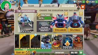 0 to 60 Angromedon Fast Evolve - Angry Birds Evolution