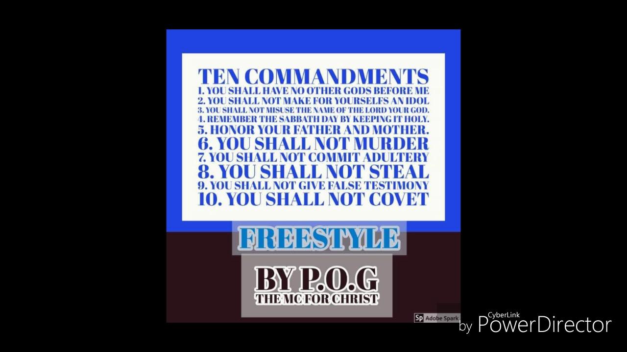 10 crack commandments Remix(The real 10 commandments)