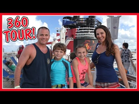 DISNEY MAGIC CRUISE SHIP TOUR | 360 VIRTUAL REALITY | We Are The Davises