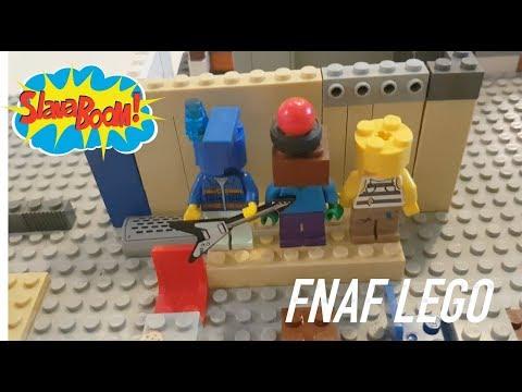 ФНАФ из Лего своими руками! Собираем сами Пять Ночей с Фредди!