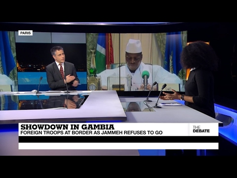 Showdown in Gambia: Foreign troops at border as Jammeh refuses to go (part 1)