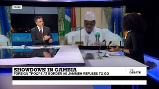Showdown in Gambia  Foreign troops at border as Jammeh refuses to go (part 1)