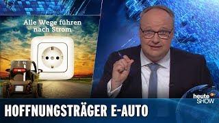 Werden Elektroautos das Klima retten? | heute-show vom 26.04.2019