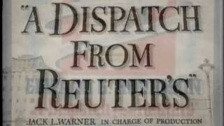 MAX STEINER - A Dispatch from Reuters (1940)