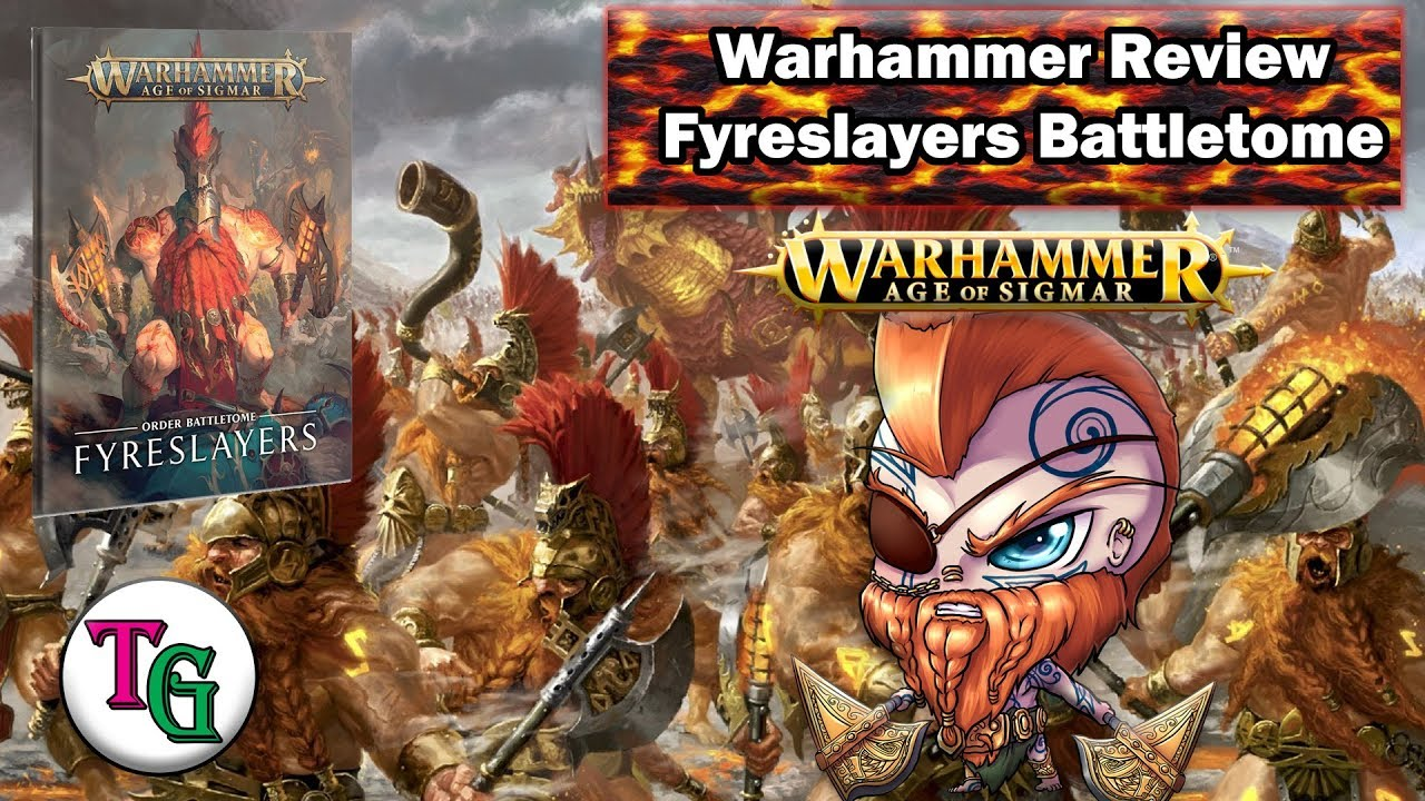 Warhammer Age of Sigmar START COLLECTING FYRESLAYERS