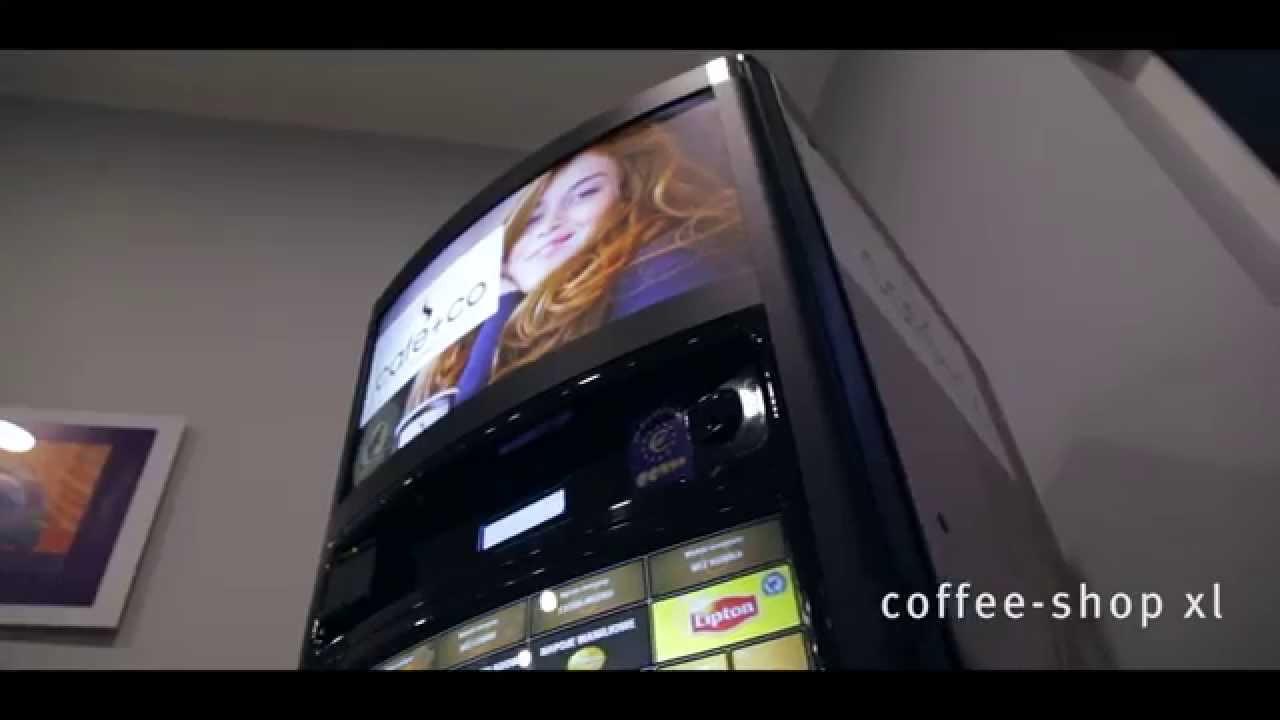 automat do kawy coffeeshop xl youtube. Black Bedroom Furniture Sets. Home Design Ideas