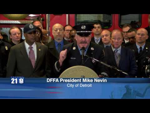 Detroit Fire Department First Response Press Conference