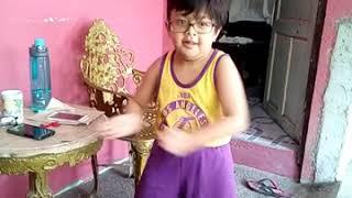 Kyut Tries Belly Dancing -Music:  Habibi Ala Neyato by Jannat