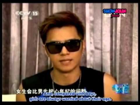 Show Luo - persuading friend to get married [Eng Sub]