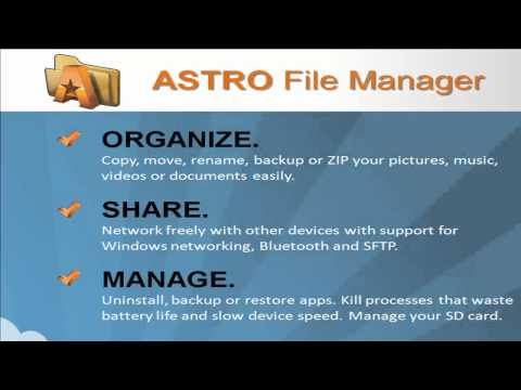 Introduction To ASTRO File Manager