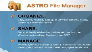 Introduction to ASTRO File Manager screenshot 5