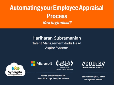 Webinar - Automating your Employee Appraisal Process: How to go about?