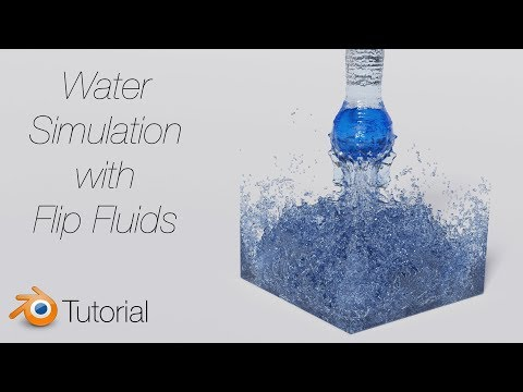[2.8] Blender Tutorial: Fluid Simulation With Flip Fluids