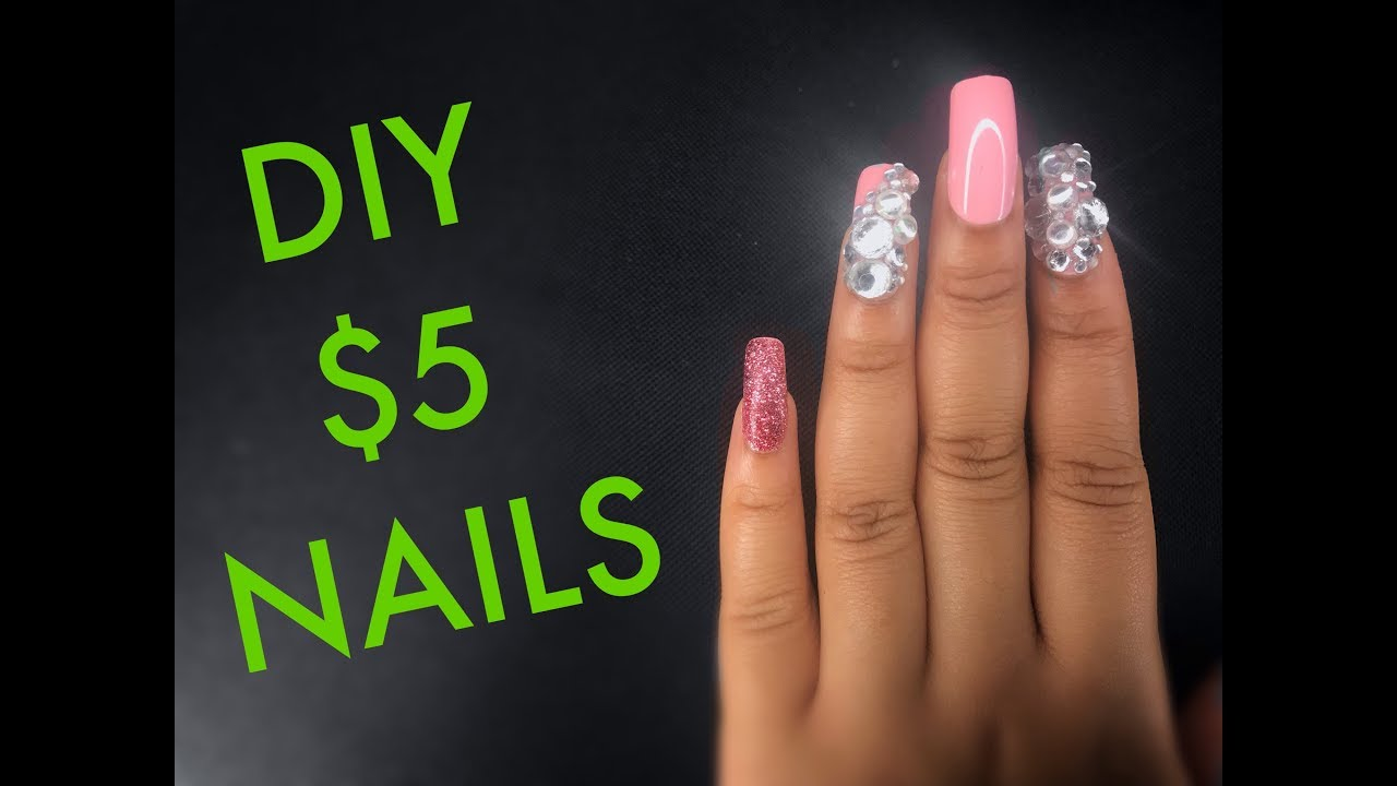 4 99 Nails How To Make Press Ons Last 2 Weeks Youtube