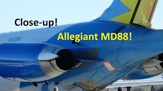 Allegiant Air MD-88 | Close-up Take-off @ KBTV