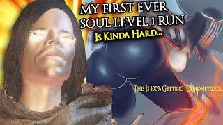 This Dark Souls 3 Soul Level 1 Run Is A LITTLE Bit Tough