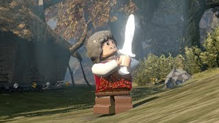 LEGO The Hobbit How to Unlock Bilbo (Old) & Free Roam Gameplay