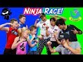 American Ninja Warrior vs Japan Ninja Warrior Race!